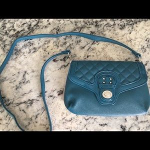 Small teal purse
